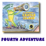 Freddie the Frog and the Secret of the Crater Island