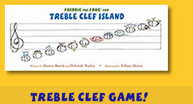 Freddie the Frog and the Treble Clef Island